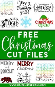 Freesvg.org offers free vector images in svg format with creative commons 0 license (public domain). Free Christmas Svg Cut Files Digitalistdesigns