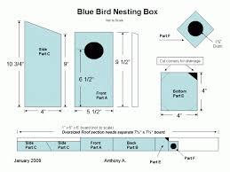 bluebird house plans. Ingenious Inspiration 7 Plans For Building Bluebird Houses Nestbox Bluebirds Printable Versions Click On PDF House
