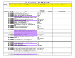 Fancy Event Planning Timeline Template Ensign - How To Write A ...