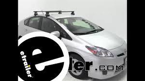 Etrailer Thule Traverse Roof Rack Installation 2011 Toyota Prius