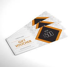 Personalised Gift Vouchers Templates Gift Certificates