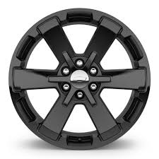 22 Inch Wheel - 6-Spoke High-Gloss Black (CK162) - SEV | Chevy ...