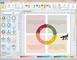 Free Chart Making Program Pdca Software Excellent Pdca Cycle Diagram Maker