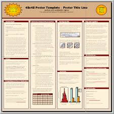 poster format powerpoint posters4research free powerpoint scientific poster templates