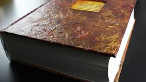 Faux Leather Book Cover - Tissue Paper Technique - YouTube