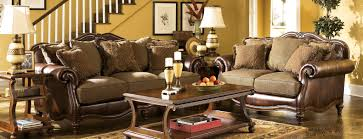 Living Room Set Ashley Furniture Buy Ashley Furniture 8430338 8430335 Set Claremore Antique Living