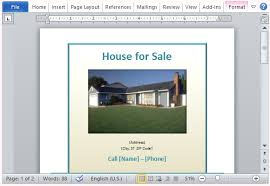 home for sale template house for sale flyer template for word