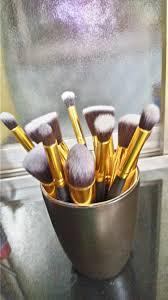 bs mall premium synthetic kabuki makeup brush set review beauty studio