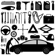 Automotive Design Tools Auto Accessories And Tools Download Free Vectors Clipart