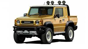 Suzuki Jimny Pickup Truck and Overland Concepts Headed to 2019 Tokyo ...