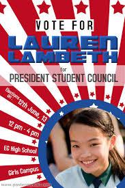 School Poster Maker Presidential Flyer Maker Insaat Mcpgroup Co