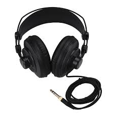 Open Design Headphones Us 30 89 21 Off Samson Sr850 Studio Reference Monitor Headphones Dynamic Headset Semi Open Design For Recording Monitoring Music Game Playing In