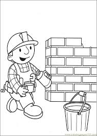 Small Picture He Builder Coloring Pages 0 Coloring Page Free Bob the Builder