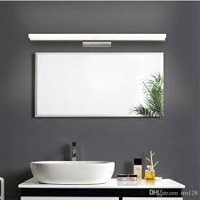 led bathroom mirror lighting. 2017 bathroom mirror light led wall front makeup lighting waterproof antifogging acrylic light02 from iris128