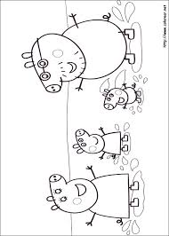 Small Picture Dibujos para colorear de Peppa Pig