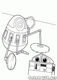 Disegni Da Colorare Robot E Wall E