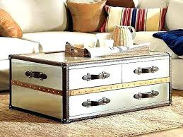 old trunk coffee table awesome old trunk into coffee table for trunk coffee tables ordinary steamer
