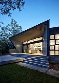 contemporary exterior by adam dettrick architects adam dettrick architects the fabrication of metal cladding and roof sheet