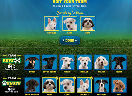 puppy bowl 2015 falcor. Brilliant Bowl Screenshot 20150128 At 43546 PM Throughout Puppy Bowl 2015 Falcor W