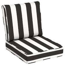 24 x 24 sunbrella cabana classic outdoor lounge chair cushion