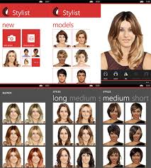 Hairstyle Simulator 69 Stunning Stylist Lets You Try Out New Hair Styles On Your Windows Phone