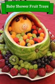 Decorative Fruit Trays Veggie Tray For Baby Shower wedding 55