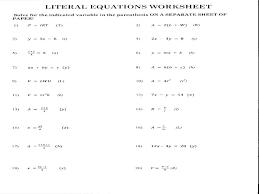 literal equations worksheet answer key coloring activity football answers math worksheets footbal solving multi step equations worksheet