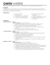 Server Resume Skills Awesome 9520 Example Of Server Resume Server Experience Resume Skills Resume