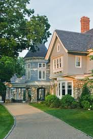 315 Best Shingle Style Homes Images On Pinterest Home Plans Photos Shingle Style Home Drive Court To Entry Elevation Victorian Exterior Burlington