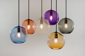 colored glass lighting. 39 Examples Remarkable Keep Poke Pendant Lighting Colored Glass Hand Blown Keepbrooklyn Coral Light Shade Orb Fixture Uv Box For Nails Hanging School House