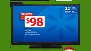$98 32-inch LED TV is Doorbuster in Walmart Black Friday 2014 Ad