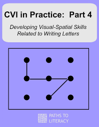 cvi in practice strategies to develop visual spatial skills for  developing visual spatial skills for writing letters