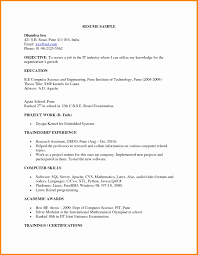 Freshers Resume Samples Mechanical Engineering Resume Templates Format For Fresher Fresh 20