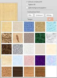 Texture Fills For Slide Backgrounds In Powerpoint 2013 For Windows