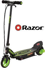 Green Light Up Razor Scooter Scooter