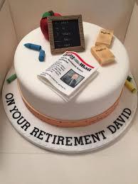 Cake Designer Education Requirements Headteacher Retirement Cake Teacher Retirement Cake Cake