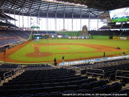 Marlins Park View From Home Plate Box 11 Vivid Seats