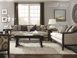 Magnussen Home Living Room Taupe Settee U4249 80 072 Valley