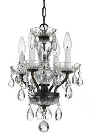 crystorama 5534 eb cl saq traditional crystal english bronze clear spectra mini chandelier loading zoom