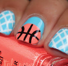 March Madness Manicures: Nail Art to Help You Cheer On Your Team ...