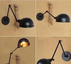 vintage wall lamps simple style wall lights loft little umbrella double arms bedside lamp restaurant