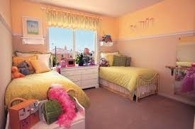 Small Bedroom With Two Beds Wonderful Small Bedroom Ideas For Boys With Red And White Paint On