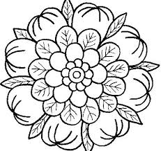 Free Simple Coloring Pages Mandala Coloring Pages Mandala Coloring