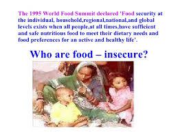 food security in class ix