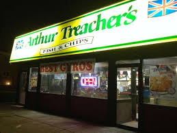 Arthur Treachers Fish Chips Garfield Heights Cleveland