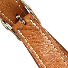 auth hermes silky city scalf shoulder bag silk barenia leather orange used vintage brandoff
