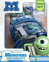 monsters inc bedding monsters university blue twin comforter sheets bedding set new cookie monster crib bedding monsters inc bedding