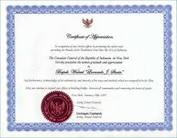 Certificate Of Appreciation Template For Seminar Speaker