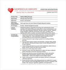 Medical Office Billing Manager Job Description 9 Office Manager Job Description Templates Free Sample
