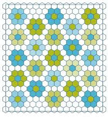 Best 25+ Hexagon quilt pattern ideas on Pinterest | Hexagon quilt ... & Grandmothers flower Garden Quilt. Directions on how I can put together the  pieces I have Adamdwight.com